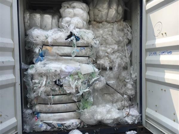 Buộc tái xuất 2 container phế liệu nhập khẩu không đạt chất lượng
