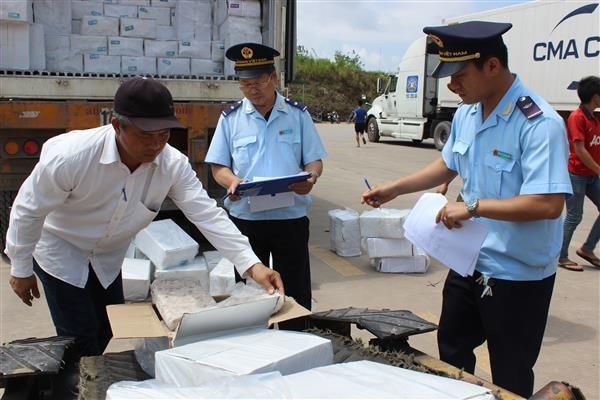 Hải quan Quảng Ninh thu hồi hơn 1 tỷ đồng nợ thuế