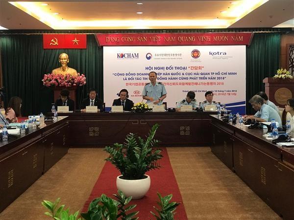 Hải quan Hồ Chí Minh hướng dẫn, giải đáp nhiều vướng mắc cho doanh nghiệp Hàn Quốc