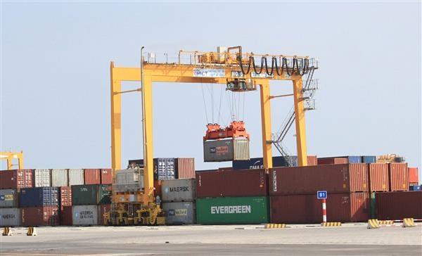 Hải quan giám sát 5.870 container tại cảng container quốc tế Hải Phòng