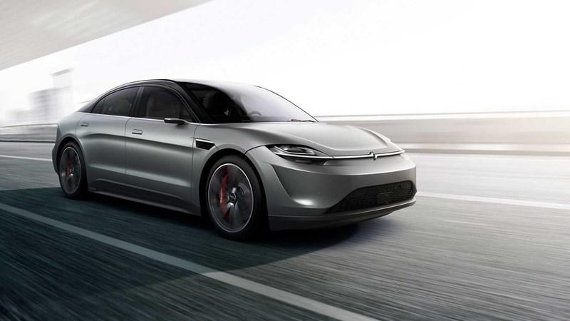 Bất ngờ hãng điện tử Sony ra mắt ô tô chạy điện