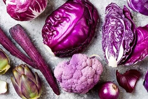 Bí mật thú vị về thực phẩm có màu tím