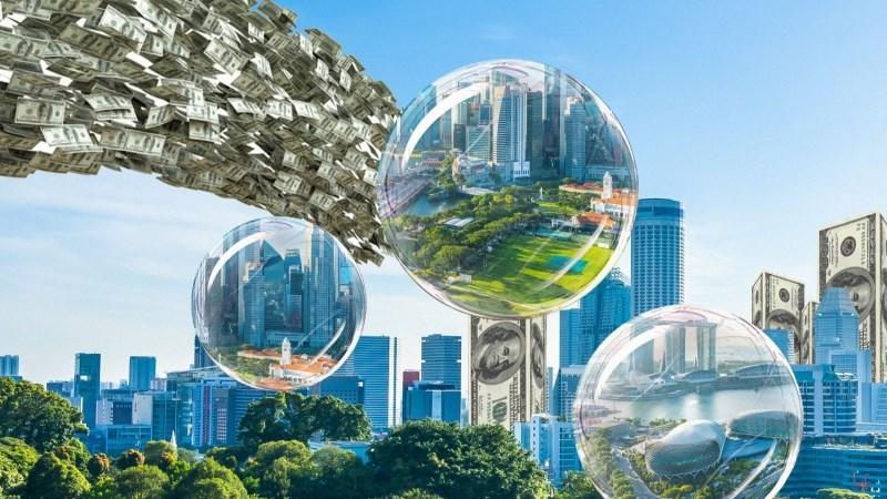 """Nguồn vốn đổ vào bất động sản hiện nay khá """"nghèo nàn"""
