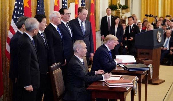 Trung Quốc đồng ý mua những gì từ Mỹ trong thỏa thuận thương mại giai đoạn một?