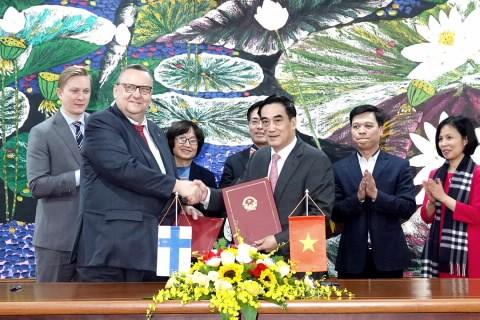Chính phủ Việt Nam - Phần Lan ký kết Hiệp định khung hợp tác tài chính
