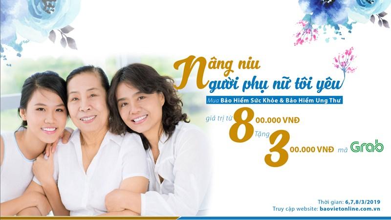 Bảo hiểm Bảo Việt khuyến mãi đặc biệt nhân Ngày 8/3