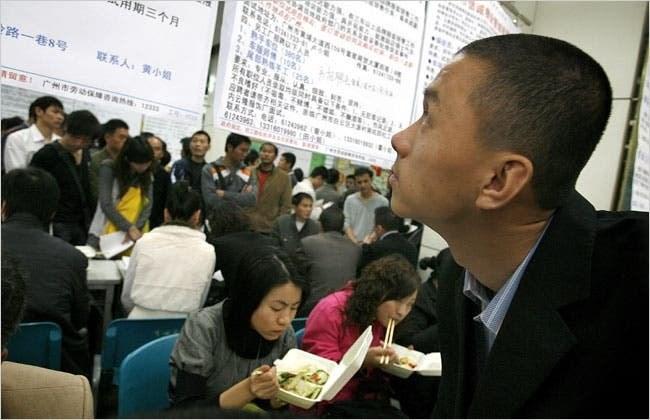 5 triệu người Trung Quốc mất việc trong hai tháng đầu năm