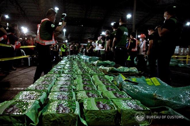 Tổng cục Hải quan thông tin về vụ bắt giữ 276 kg ma túy đá tại Philippines