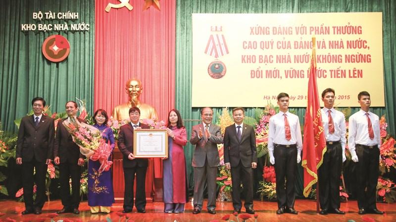 Hệ thống Kho bạc Nhà nước trực thuộc Bộ Tài chính: Chặng đường 30 năm xây dựng và phát triển