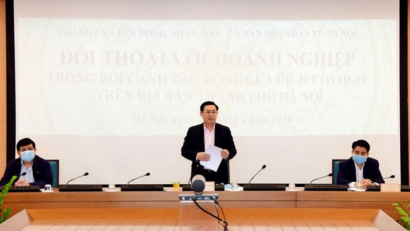 Hà Nội tạo điều kiện tối đa cho sản xuất kinh doanh, phục hồi kinh tế