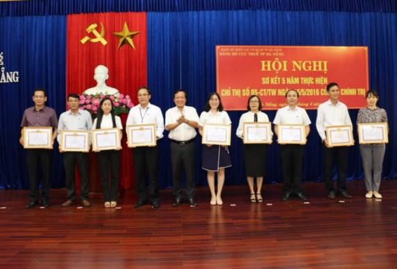 Điểm sáng trong thực hiện Chỉ thị số 05-CT/TW tại Đảng bộ Cục Thuế TP. Đà Nẵng
