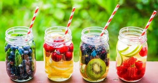 Đẹp dáng, giải stress với các loại nước detox dễ làm