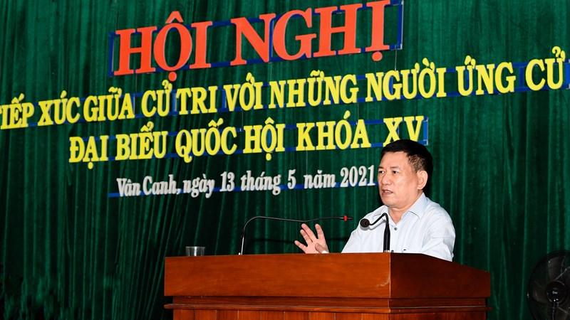 Chùm ảnh: Bộ trưởng Hồ Đức Phớc hoàn thành chương trình tiếp xúc cử tri tại Bình Định