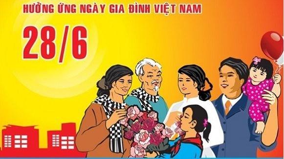 Tổ chức kỷ niệm, tuyên truyền nhân dịp 20 năm Ngày Gia đình Việt Nam