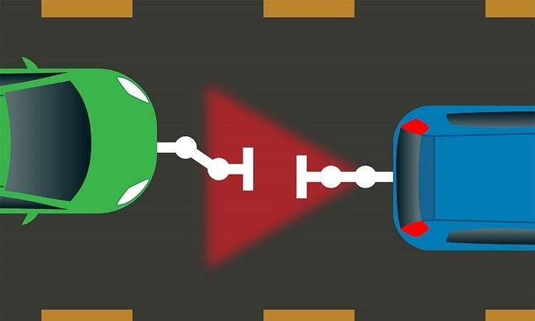 Ô tô điện tương lai có thể sạc pin cho nhau cả trong lúc di chuyển
