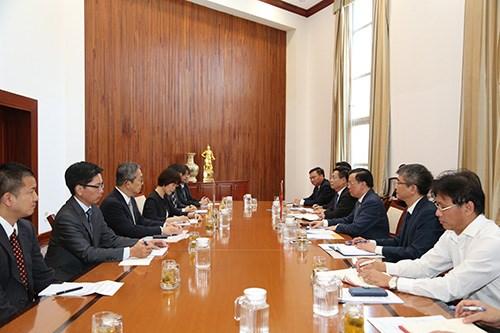Bộ Tài chính Việt Nam tiếp tục nỗ lực thúc đẩy quan hệ đối tác chiến lược Việt Nam - Nhật Bản đi vào chiều sâu