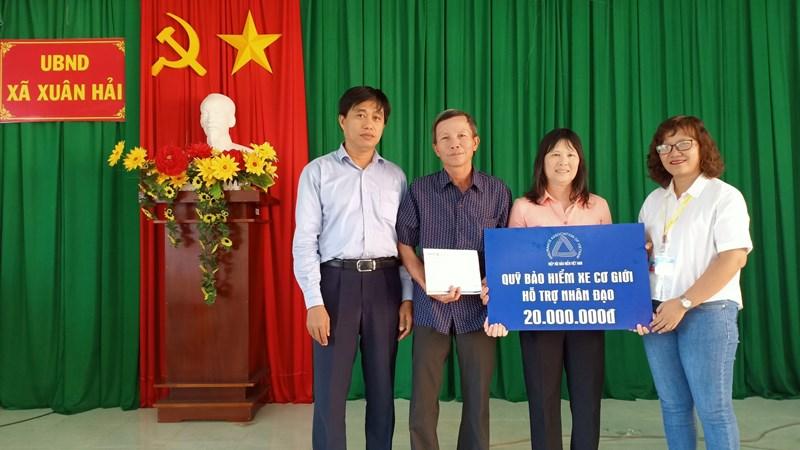 Quỹ Bảo hiểm xe cơ giới hỗ trợ nhân đạo tại Ninh Thuận và Nghệ An