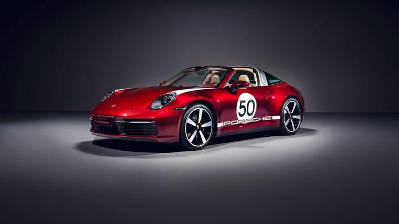 """Ngắm mẫu xe """"di sản"""" 911 Targa 4S của Porsche mới ra mắt"""