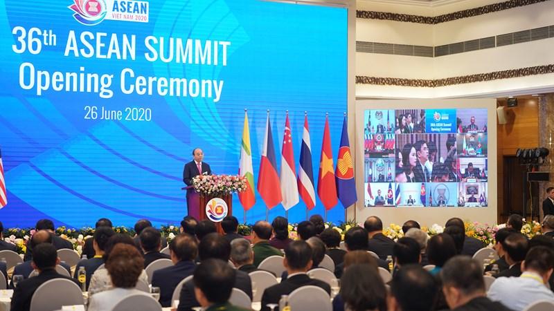 Hội nghị Cấp cao ASEAN lần thứ 36 chính thức khai mạc