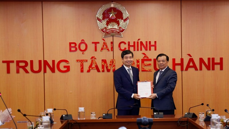 Công bố quyết định bổ nhiệm Thứ trưởng Bộ Tài chính