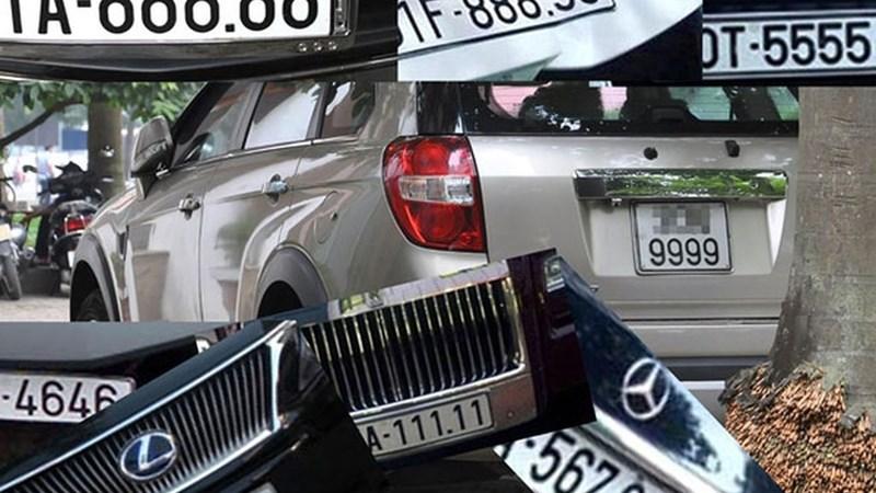 Đề xuất đấu giá biển số xe ô tô ngũ quý, tứ quý