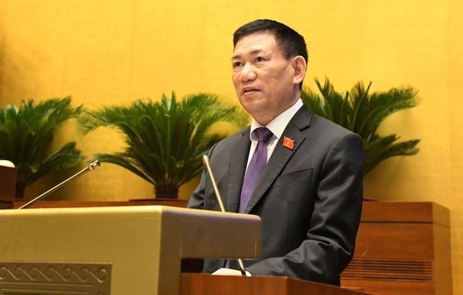 Phê chuẩn bổ nhiệm ông Hồ Đức Phớc giữ chức Bộ trưởng Bộ Tài chính