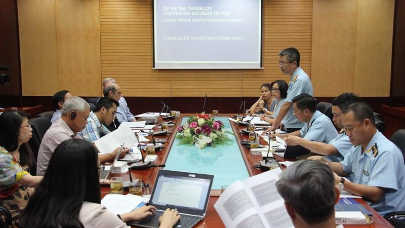 Tổng cục Hải quan cùng các bộ, ngành thúc đẩy thực hiện Dự án hỗ trợ kỹ thuật tạo thuận lợi thương mại