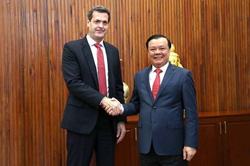 Bộ Tài chính sẵn sàng phối hợp chặt chẽ với ADB thúc đẩy quan hệ hợp tác hai bên