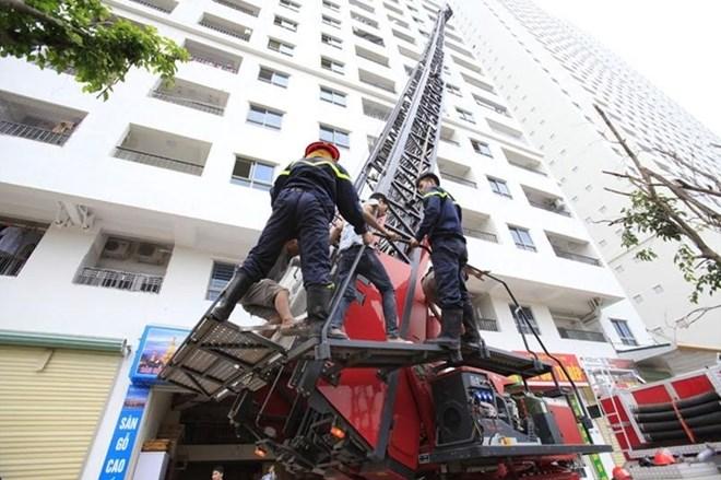 Quy chuẩn nào giúp hạn chế tối đa hậu quả khi chung cư bị cháy?