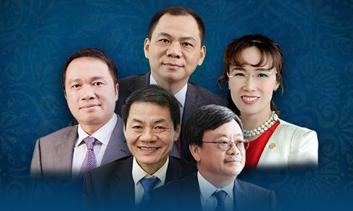 Tài sản các tỷ phú Việt tăng thêm hàng tỷ USD