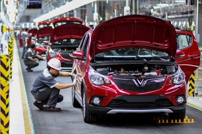 Đề xuất miễn thuế nhập khẩu với linh kiện sản xuất, lắp ráp ô tô thử nghiệm của Vinfast