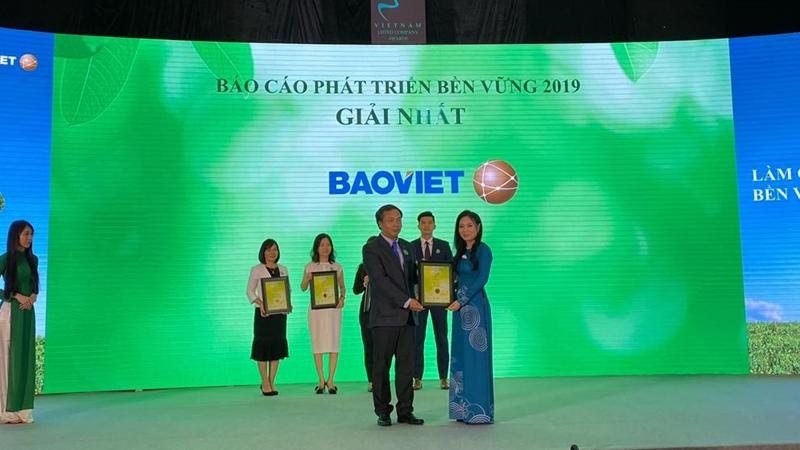 Bảo Việt tiếp tục giữ  vị trí quán quân doanh nghiệp niêm yết 2019
