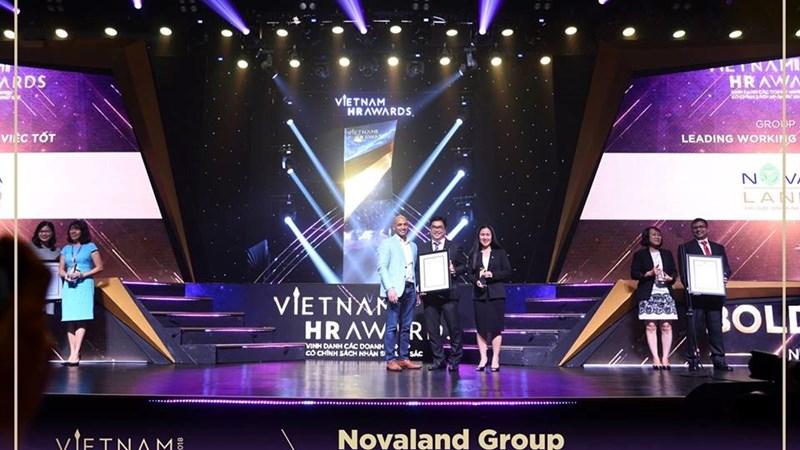 Novaland lần thứ 2 liên tiếp được vinh danh tại lễ trao giải Vietnam HR Arward 2018