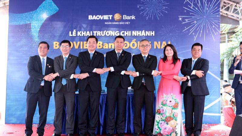 BAOVIET Bank khai trương thêm 02 chi nhánh tại Đồng Nai và Thanh Hóa