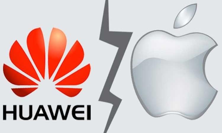 Doanh nghiệp Trung Quốc đòi tẩy chay hàng Apple vì Huawei