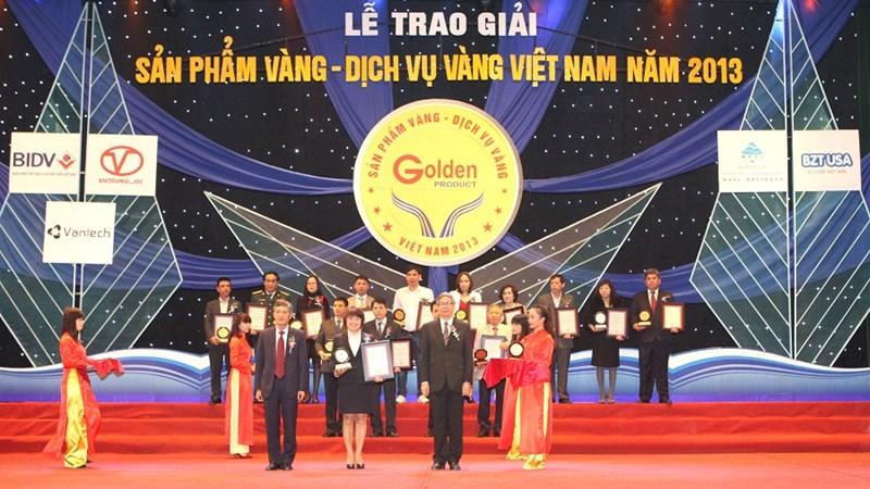 BIDV nhận 02 giải thưởng Sản phẩm vàng – Dịch vụ vàng Việt Nam