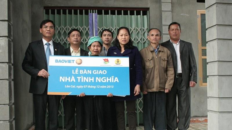 Bảo Việt hỗ trợ gần 200 triệu đồng cho người dân có hoàn cảnh khó khăn