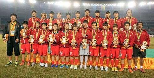 BIDV thưởng nóng đội tuyển bóng đá nữ Việt Nam 300 triệu đồng