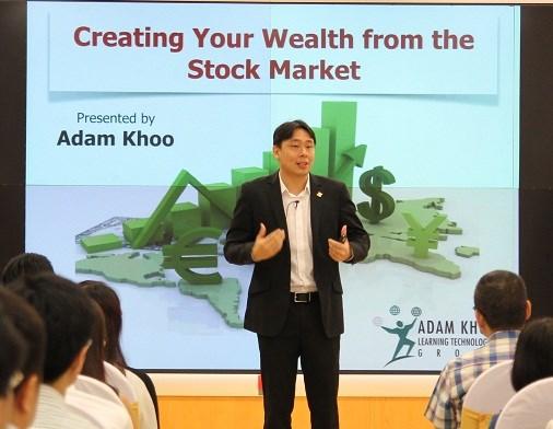 Kinh nghiệm đầu tư chứng khoán từ triệu phú Adam Khoo