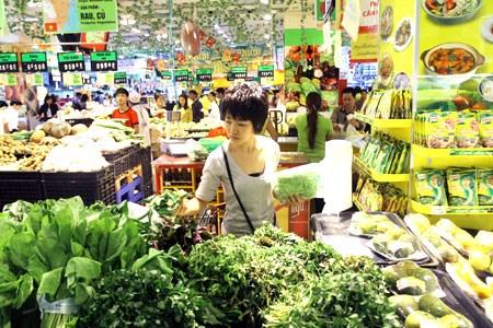 CPI tháng 7 tại Hà Nội tăng 0,18%