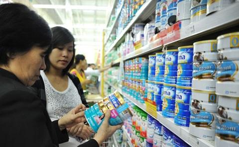 Giá sữa trẻ em dưới 6 tuổi đã giảm tới 34% sau khi bình ổn