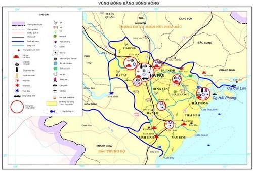 Phát huy vai trò các đô thị trung tâm vùng Đồng bằng sông Hồng