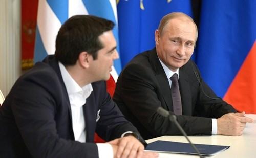 Mỹ sợ mất Hy Lạp vào tay Nga