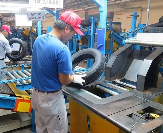 Sắt, thép sản xuất tanh lốp xe hưởng thuế nhập khẩu 0% từ 02/5/2016