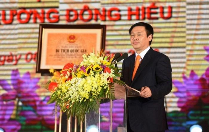 Phó Thủ tướng Chính phủ Vương Đình Huệ thăm và làm việc tại Nghệ An