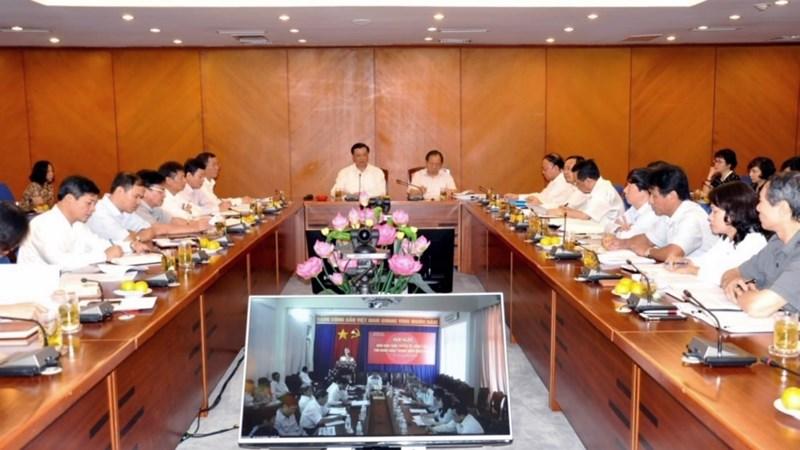 Hội nghị giao ban trực tuyến về công tác thu ngân sách Trung ương năm 2016