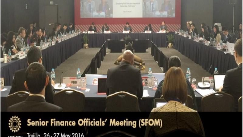 Hội nghị quan chức Tài chính APEC 2016: Tăng cường hiệu quả chính sách công