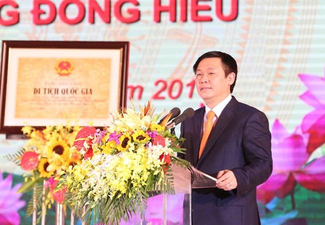 Phó Thủ tướng Vương Đình Huệ: Nghệ An cần tích cực hỗ trợ phát triển doanh nghiệp