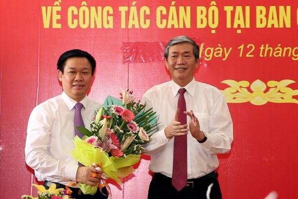 Phó Thủ tướng Vương Đình Huệ giữ chức Trưởng Ban chỉ đạo Tây Nam Bộ