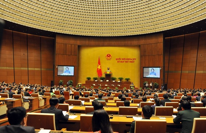 Kỳ họp thứ nhất Quốc hội khóa XIV chính thức khai mạc
